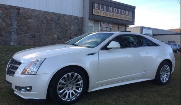 2011 Cadillac CTS4 Coupe