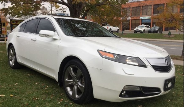 2013 Acura TL SH-AWD – Mint Condition, One Owner